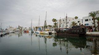 Jachetní přístav města Sousse