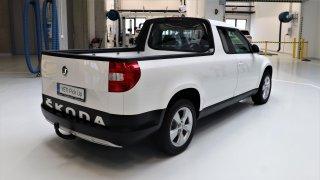 Škoda Yeti Pick-up.