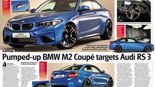 Informace o BMW M2 v chystaném článku