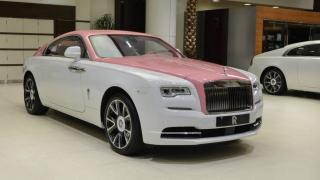 Rolls-Royce Wraith růžový 1