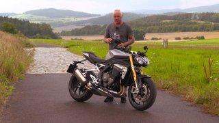 Recenze motocyklu Triumph Speed Triple 1200 RS