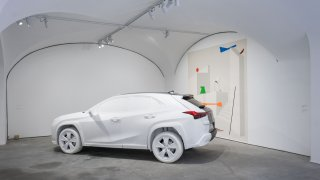 Pop-up galerie UX Art Space by Lexus