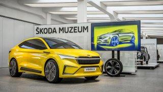 Škoda Vision iV - hliněný model
