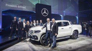 Mercedes-Benz třídy X 1