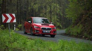 Subaru Levorg jízdními vlastnostmi exceluje.