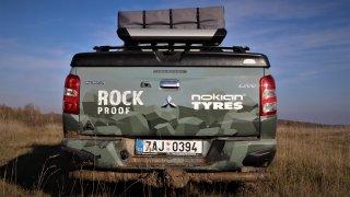 Mitsubishi L200 Rock Proof