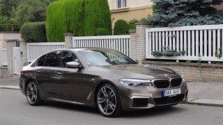 BMW M550d exterier 3