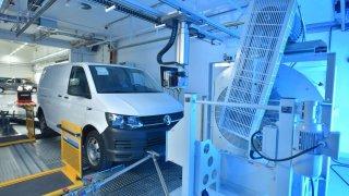 Volkswagen Užitkové vozy má centrum pro měření emisí