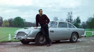 James Bond a Aston Martin DB5