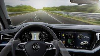 Volkswagen Touareg Head-up displej