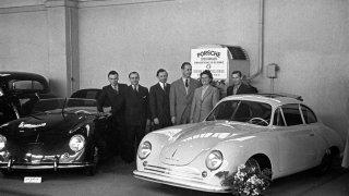 Porsche využívá Ženevu pro premiéru novinek již o roku 1949