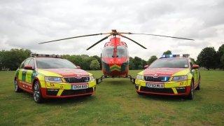 Octavia RS v rukou londýnské záchranky