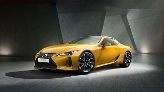 Nový žlutý odstín modelu Lexus LC představuje dva roky práce