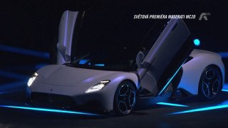Světová premiéra Maserati MC20
