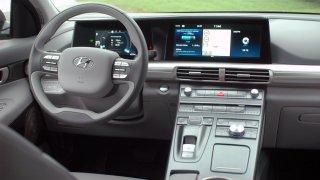 Hyundai Nexo FCEV interier 2