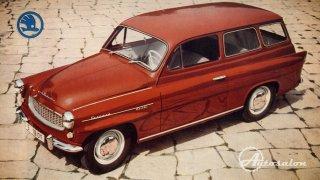 Škoda Octavia 1959 1