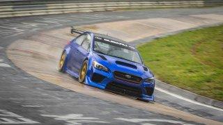 Na plný plyn! Záznam rekordní jízdy Subaru WRX STI