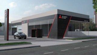 Nový design dealerství u Mitsubishi