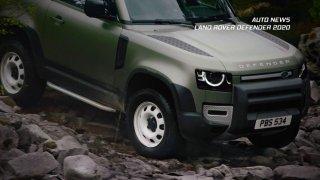 Auto news: Land Rover Defender, Nissan Leaf 4x4, Nissan Patrol