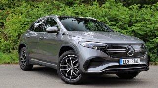 První test Mercedesu EQA: Dojem z komfortního elektromobilu kazí podivné sezení a pohon předních kol