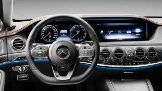 Mercedes třídy S na českém trhu interiér 4