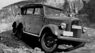 Škoda 903, prototyp vojenského vozidla s pohonem 6