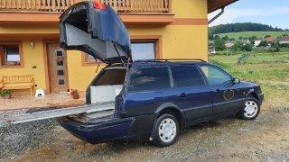 Volkswagen Passat pohřební