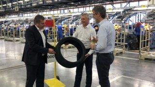Continental Barum vyrobil 400 milionů osobních pne