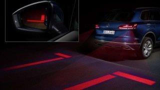 Volkswagen interaktivní osvětlení