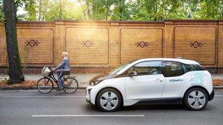 BMW sdílení vozidel
