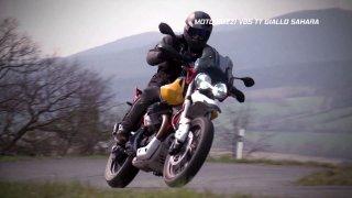 Recenze Moto Guzzi V85 TT Giallo Sahara