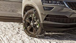 Nepoškoďte si auto. Vybrat odpovídající sněhové řetězy, a ještě je správně nasadit, je věda
