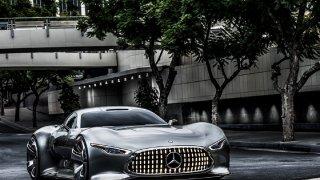 Pro nový film o Batmanovi stvořil Mercedes unikátní supersport