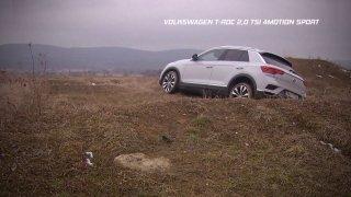 Recenze malého SUV VW T-ROC 2,0 TSI 4Motion Sport