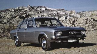 Audi vyšší střední třídy modelový rok 1968