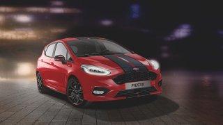 Ford Fiesta ST-Line bude v provedení Red a Black