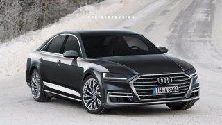 Nová Audi A8 - Obrázek 1
