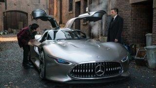 Mercedes-Benz AMG Vision Gran Turismo pro Batmana