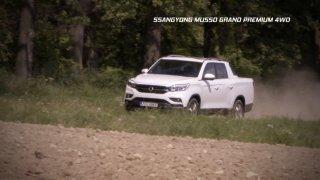 Recenze pickupu SsangYong Musso Grand Premium 4WD