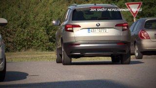 Reportáž o tom, jak snížit nepozornost řidičů