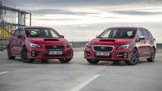 Velká galerie Subaru Levorg! STI v kombíku je poprvé v Česku