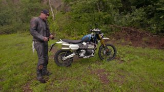 Test motocyklu Triumph Scrambler 1200 XE