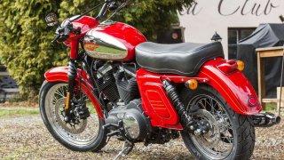 Harley-Davidson_custom Praha