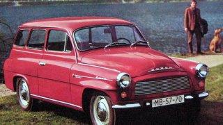 škoda Octavia combi (1960)
