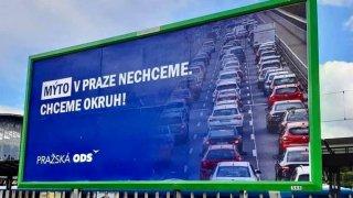 Mýtné pro starší auta za vjezd do centra Prahy bude až 2500 korun měsíčně, tvrdí ODS