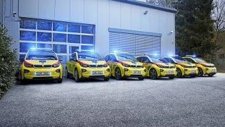 BMW znovu rozdává i3. Tentokrát je dostala česká záchranná služba