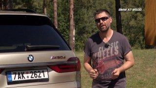 Recenze velkého luxusního SUV BMW X7 M50d