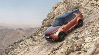 Land Rover Discovery inspirací pro outdoorový telefon