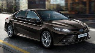 Toyota Camry se vrací do Evropy