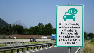 IG-L zóna na rakouské dálnici